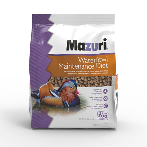 Single bag of Mazuri® Waterfowl Maintenance Diet