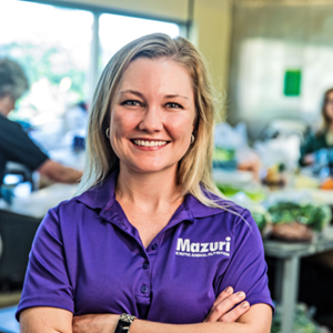 Mazuri nutritionist Dr. Nichole Huntley formulates exotic animal diets, conducts research and provides technical support for Mazuri customers.