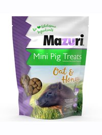 Mazuri® Mini Pig Treat bag.
