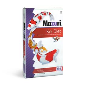 Bag of Mazuri® Koi Platinum Ogata food.